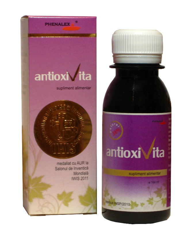 AntioxiVita-100 ml (formula concentrata), Phenalex