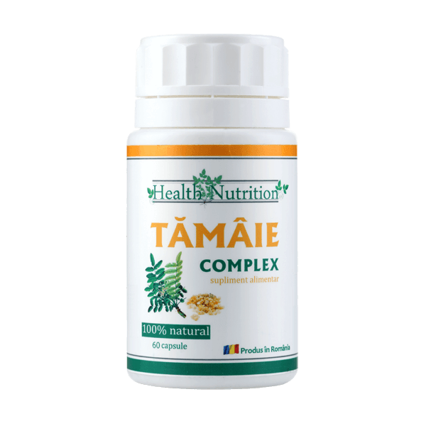 Tamaie Extract 100% naturala, 60 capsule, Health Nutrition