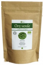 Orz verde pulbere organica 125g, Obio