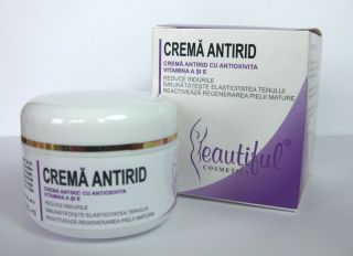 Beautiful Cosmetics-CREMĂ ANTIRID, 50ML, Phenalex
