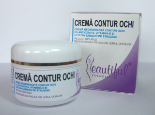 Beautiful Cosmetics-CREMA CONTUR OCHI, 50ML, Phenalex