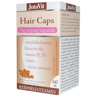 Hair Caps Plus, 60 cps, JutaVit