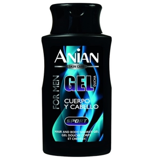 ANIAN Gel dus si Sampon Sport-for men, 250 ml
