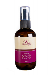 Ulei de Argan Virgin.Organic presat la rece 100ml - Spray, Trioverde