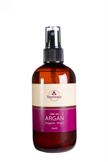 Ulei de Argan Virgin.Organic presat la rece 250ml - Spray, Trioverde
