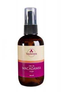 Ulei de Macadamia Virgin, presat la rece 100ml - Spray, Trioverde
