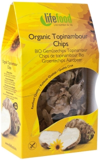 Chips din topinambur raw bio 30g