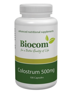 Colostrum 500 mg, Biocom