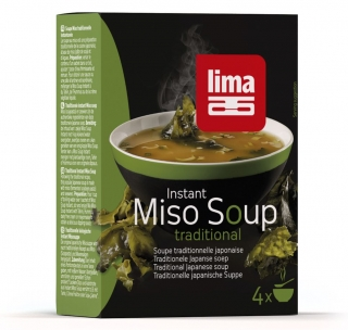 Supa Miso instant 4x10g, Lima