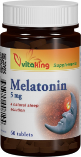 Melatonina 5mg - 60 comprimate, Vitaking