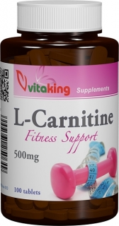 L-Carnitina 500mg - 100 comprimate, Vitaking
