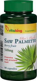 Extract de palmier pitic (Saw palmetto) 540 mg - 90 capsule, Vitaking