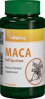 Maca 500mg - 90 capsule vegetale, Vitaking