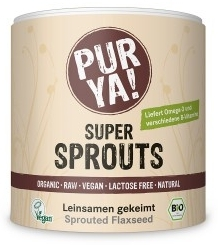 Super Sprouts seminte de in germinate raw bio 200g