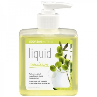 Sapun Lichid/Gel De Dus Bio Neutru Sensitiv 300 ml Sodasan
