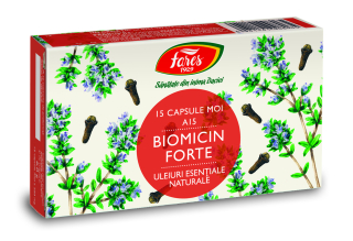 Biomicin forte (antibiotic natural), A15, capsule moi, Fares