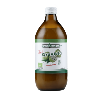 Suc Graviola 100% Pur, Bio, 500ml, Health Nutrition