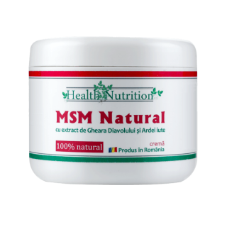 MSM CREMA, 200 ml, Health Nutrition