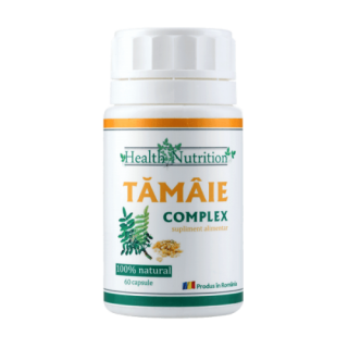 TAMAIE EXTRACT 100% naturala, 120 capsule, Health Nutrition