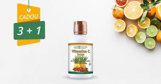 PACHET PROMO Vitamina C lichida 1000mg 100% naturala, 240 ml, Health Nutrition