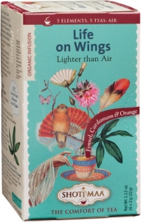 Ceai Shotimaa Elements - Life on Wings - Lighter than Air bio 16dz