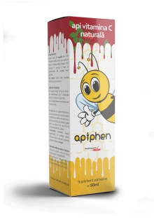 Apiphen api vitamina C naturala 50ml, Phenalex