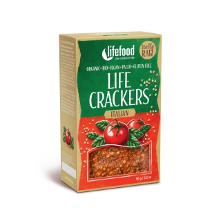 Lifecrackers italian raw bio 90g
