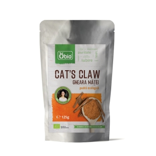 Cat's claw (gheara matei) pulbere raw 125g, Obio